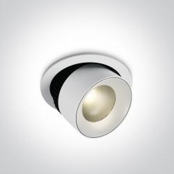 One Light Lampa LED do sklepu galerii Ermioni 11125R/W/W