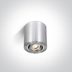 One Light Lampa LED tuba aluminiowa Kroczkos 12105AB/AL
