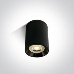 One Light Lampa sufitowa czarna do Lawrio 12105AL/B/B