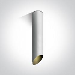 One Light Lampa sufitowa rura biała Litochoro 12105E2/W/B