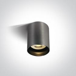 One Light Lampa sufitowa szara styl kuchnia Muzaki 12105N/MG