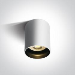 One Light Lampa sufitowa biała styl kuchnia Muzaki 12105N/W