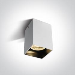 One Light Lampa sufitowa loft styl biała Nikomidia 12105NA/W