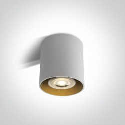 One Light Lampa sufiotwa czarna walec Roda 12105T/W