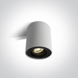 One Light Lampa sufitowa salon mieszkanie Nemea 12105Y/W