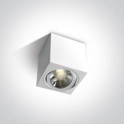 One Light Lampa sufitowa LED mieszkanie salon Oropos 12106CA/W/W