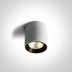 One Light Lampa sufitowa LED przyjemne światło Pitagorio 12107K/W/W