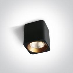 One Light Lampa sufitowa do mieszkania Platamonas 12107KA/B/W
