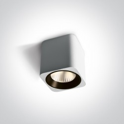One Light Lampa sufitowa do mieszkania Platamonas 12107KA/W/W