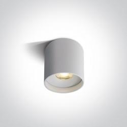 One Light Lampa sufitowa uniwersalna Karas 12108C/W/W