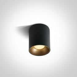 One Light Lampa sufitowa loft retro styl Trizin 12112Z/B/W