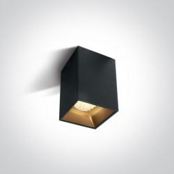 One Light Lampa czarna loft styl Sofades 12112ZA/B/W