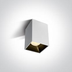 One Light Lampa biała loft styl Sofades 12112ZA/W/W