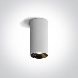 One Light Lampa sufitowa LED walec Stilida 12115D/W/W