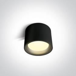 One Light Lampa sufitowa nowoczesny styl Tasos 12115L/B/W