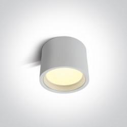 One Light Lampa sufitowa nowoczesny styl Tasos 12115L/W/W