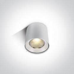 One Light Lampa sufitowa LED deweloper Tembi 12115LA/W/W