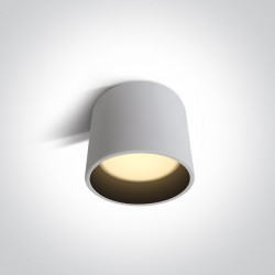 One Light Lampa LED duże biuro Plomari 2 12115LD/W/W