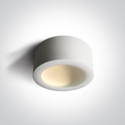 One Light Lampa sufitowa LED biała Tespies 2 12116FD/W/W
