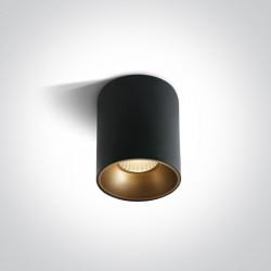 One Light Lampy sufitowe retro styl Trizin 2 12120Z/B/W