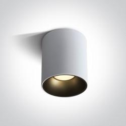 One Light Lampa sufitowa LED biała Trizin 3 12130Z/W/W