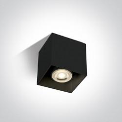 One Light Lampa sufitowa sześcian Delos 12134/B