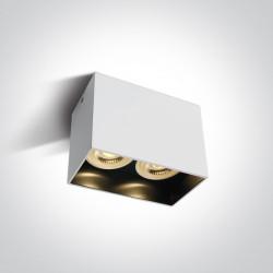 One Light Lampa podwójna czarna Nikomidia 2 12205NA/W