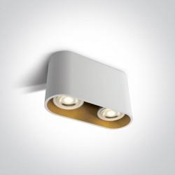 One Light Lampa nowoczesny salon Roda 2 12205T/W