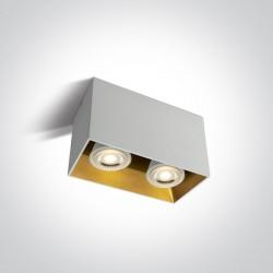 One Light Lampa podwójna Sinasos 2 12205TA/W