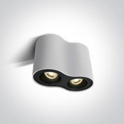 One Light Lampa podwójna biała Nemea 2 12205Y/W