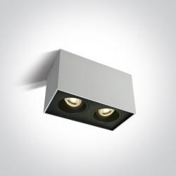 One Light Lampa sufitowa podwójna Karlowasi 2 12205YA/W