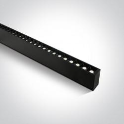 One Light profil LED czarny idealny do biura open space Syneti 38150B/B/C