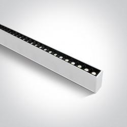 One Light profil LED biały idealny do biura open space Syneti 38150B/W/C