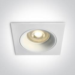 One Light lampa wpust do salonu Firopotamos 50105D7/W