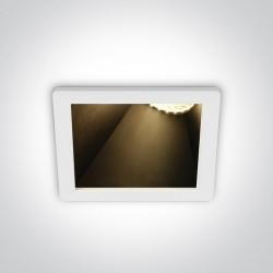 One Light ozdobny wpust salon Bevera 50105MA/W/B