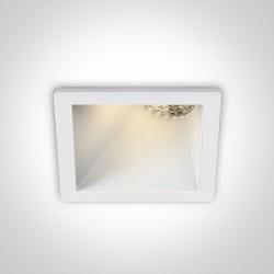 One Light ozdobny wpust salon Bevera 50105MA/W/W
