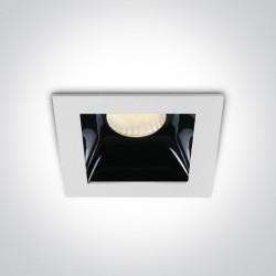 One Light lampa wpust hotel sklep Abram 50107B/W/W