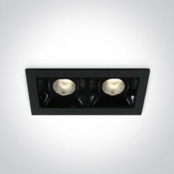 One Light lampa LED podwójna Merihas 2 50202B/B/W