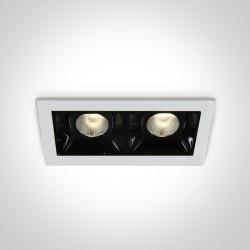 One Light lampa LED podwójna Merihas 2 50202B/W/W