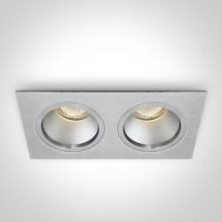 One Light lampa LED podwójna Sermili 50205D/AL