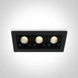One Light lampa LED potrójna Merihas 3 50302B/B/W