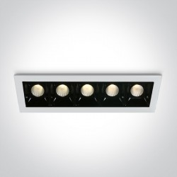 One Light lampy LED szereg Merihas 5 50502B/W/W
