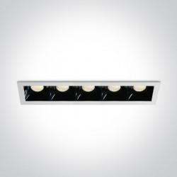 One Light szereg lamp LED Abram 4 50507B/W/W