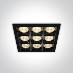 One Light wpust LED ozdobny Dorkada 50906B/B/W