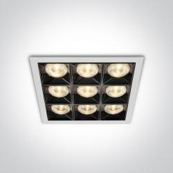 One Light wpust LED ozdobny Dorkada 50906B/W/W