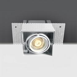 One Light wpust do zabudowy Stefania 51010TR/W
