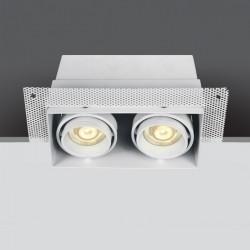 One Light biały wpust Stefania 2 51020TR/W