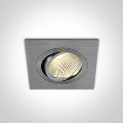 One Light wpust LED aluminiowy Keramidi 51112/AL/W