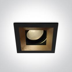 One Light wpust LED ozdobny Zagora 51112H/B/W