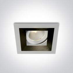 One Light wpust LED ozdobny Zagora 51112H/W/W